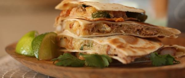 Tuna and Soft Cheese Quesadillas Recipe